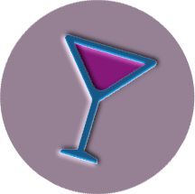 Abbildung eines Simple red Cocktail